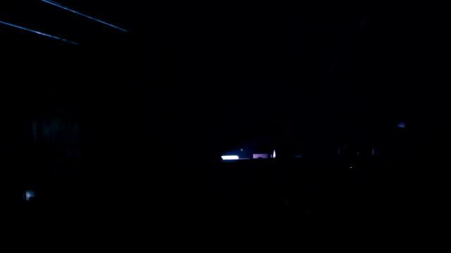 Laser concert video