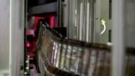 Laser control of beer bottles video