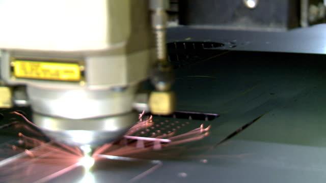 Laser cutter video