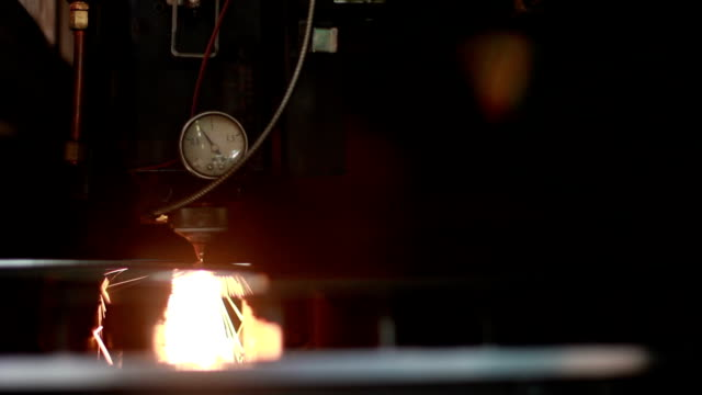laser cutting video