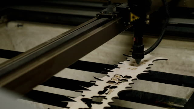 Laser engraving on wood video