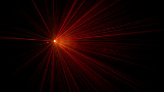Laser lights in fog video