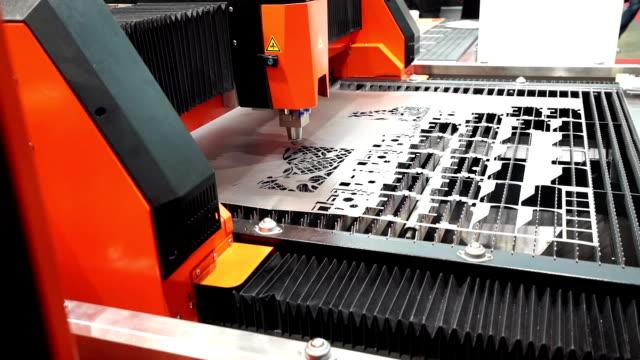 Laser metal sheet machine video