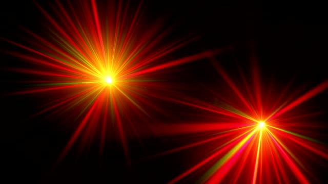 Laser trails video