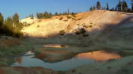 Lassen Volcanic National Park Hot Spring video