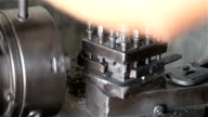 Lathe in a  industry video
