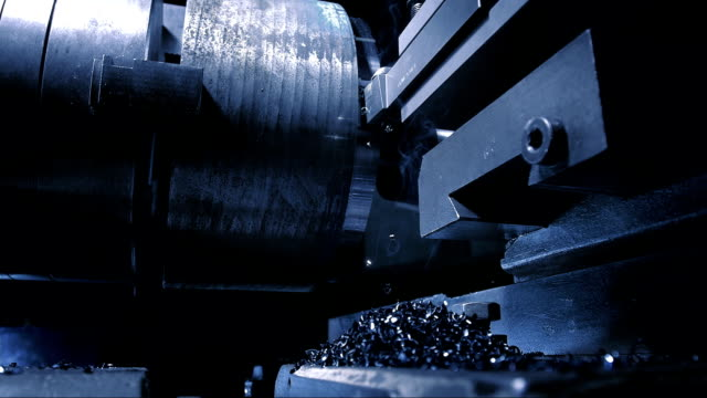 Lathe Processing (Super Slow Motion) video