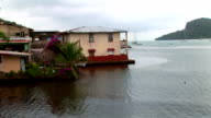 Latin America - Port Town in Panama video