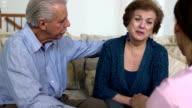 Latin Healthcare Professional Comforts Patient var b video