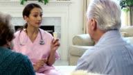 Latin Healthcare Professional Explaining Prescription Dosages video