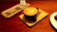 Latte Art video