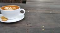 latte coffee video