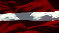 Latvia Flag video