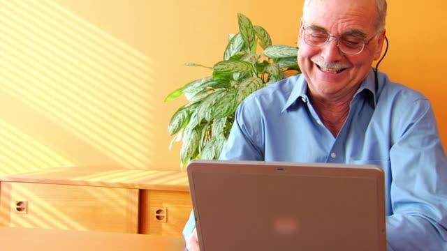Laughing Man at Computer P MCU1 video