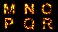 Lava letters video