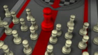 Leader forcibly getting its point across, Chess, Checkmate video