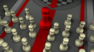Leader trying to get its point across, Chess, Checkmate video