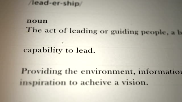 Leadership Definition video