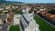 Leaning Tower and Dome in historical center of Pisa video