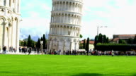 Leaning Tower of Pisa video