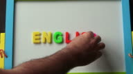 Learning English  Language concept video