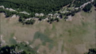 Leaving Bighorn Mountains To the West  - Aerial View - Montana, Big Horn County, United States video