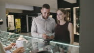 Leaving Jewelry Store with Purchase video