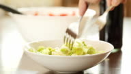 Leek salad video