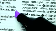 Legal highlighted in purple video