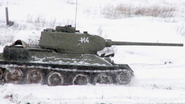 Legendary Russian Tank T34 video