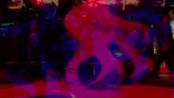 Legs dancing composite video