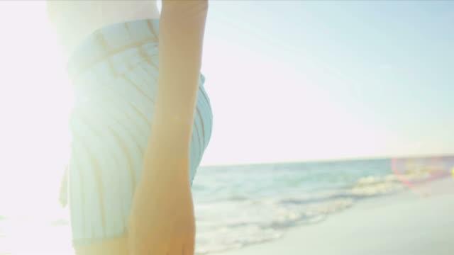 Legs Waist Female Beach Dressed Casual Swimwear video