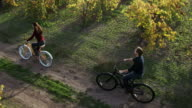 Leisure Bike Ride in Wine Country video
