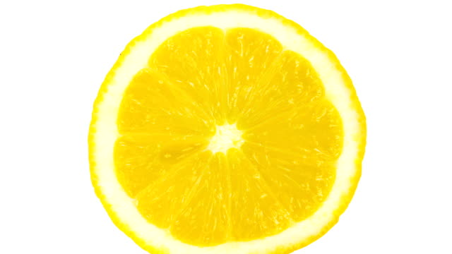 Lemon Portion On White video