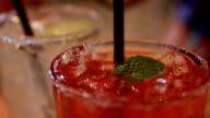 Lemon soda and fruit tea video