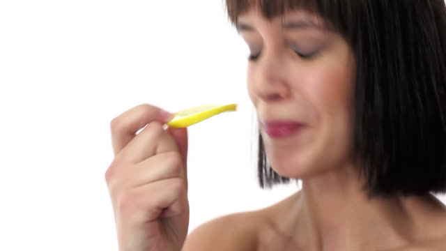Lemon taste video