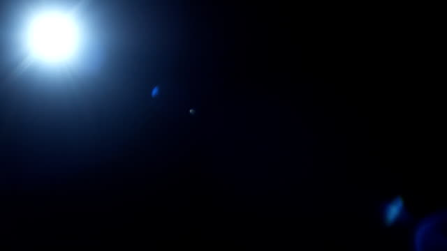 Lens Flare 28mm top blue video