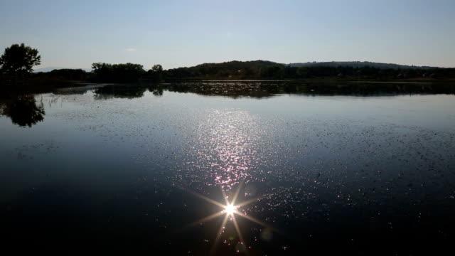 Lens in lake video