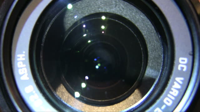 Lens movement video