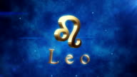 Leo (Zodiac Air Signs) | Loopable video