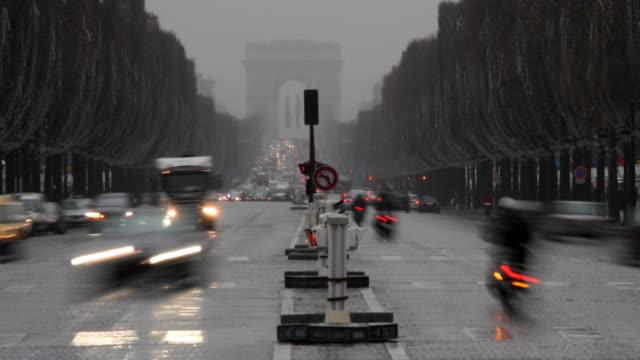Les Champs-Élysées, Paris. video