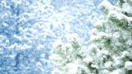 Let It Snow. Looped. video