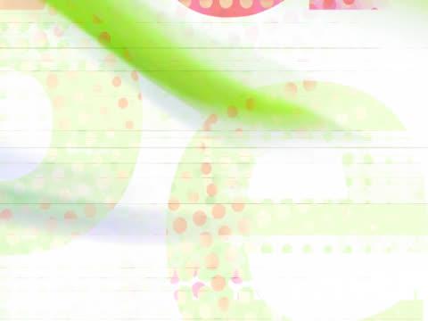 Letter dots video