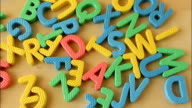 Letters Spelling Education video