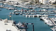 Leuca, boat, port bay, resort video