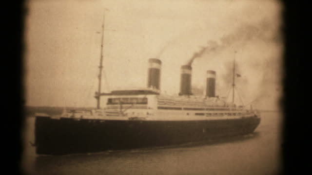 SS Leviathan c. 1926. 16mm (HD1080) video