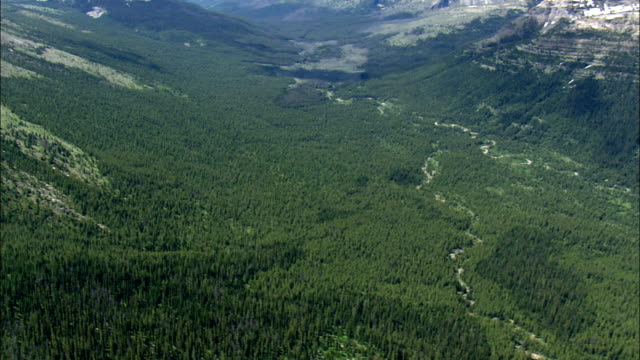 Lewis And Clark National Forest  - Aerial View - Montana, Lewis and Clark County, United States video