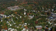 Lexington  - Aerial View - Massachusetts,  Middlesex County,  United States video