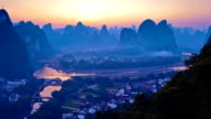 Li river in the Morning video