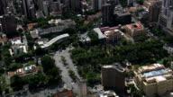 Liberty Square  - Aerial View - Minas Gerais, Belo Horizonte, Brazil video